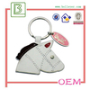 Hot sale fashion PU and leather Horse shape key holder