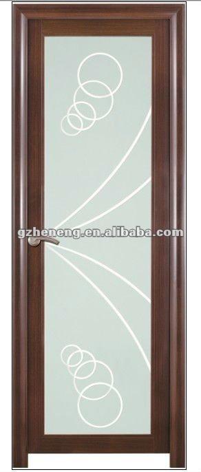 Puertas De Baño Aluminio:puerta de aluminio del cuarto de baño-Puertas -Identificación del