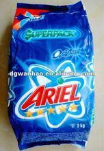 2012 high quality printing washing powder bag