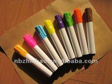 Colour permanent marker pen- written by Tom