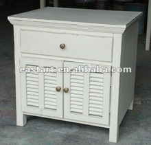 French style furniture- white small cabinet