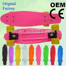 Colorful penny board/new design skateboard