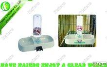 Square Pet pair bowl&water bottle P610: