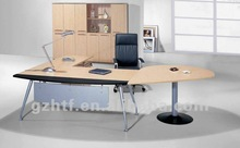 Irregular Shape melamine executive desk