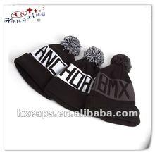100% acrylic custom design cool knitted beanie hat