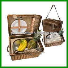 Nice willow picnic basket
