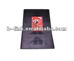 PP Hi-impact, black Mini Ramp with 8 pieces anti slip pads