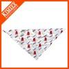 Popular printed triangle bandana,dog bandana for 2013