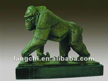 Bronze Gorilla Sculpture bronze art