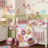 Pink Animal European Baby Bedding Set