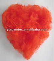 Newstar solution dyed orange red meta aramid fiber