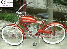 26 inch popular 50cc gas engine motor chopper bike