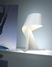 2012 popular modern table lamp ,stainless steel YT15W