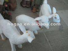 polyresin life size statue lamb