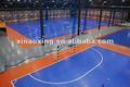Suge interior bloqueio futebol/ campo de futsal chão