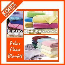 Micro-fiber polyester polar fleece blanket with printed pattern