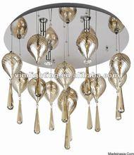 murano venetian style G10 bubble chandelier