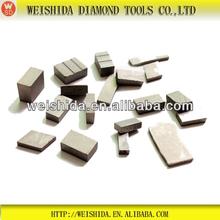 2013 high quality used sharp Asphalt Diamond cutting tools segment for concrete Asphalt