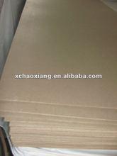 Insulating cardboard/ press paper board laminate