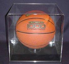 clear acrylic basketball display box