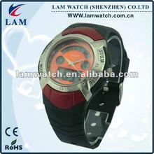 High quality men analog digital wrist watch