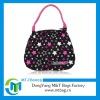 Stars pattern canvas bag cute clutch bag