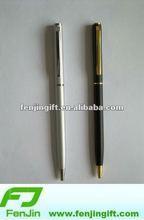 Metal hotel twist ball pen