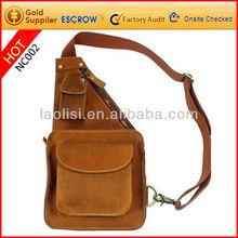 LAOLISI supply 2012 unique design exclusive waist bags leather