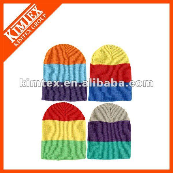 100 acrylic winter ski hat