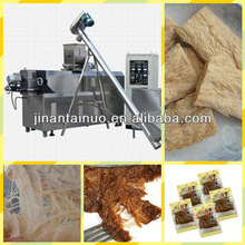 Peanut and soybean organized protein food processing plant