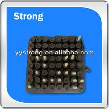 precision rubber parts; rubber silicon