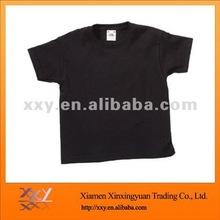O-neck Mens Plain Tshirt Fashion Black
