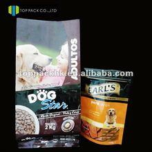 2kg big plastic dog food pack bag/pet food bags