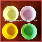Food grade 4pcs in a set silicone cake mold,silicone baking cake cup
