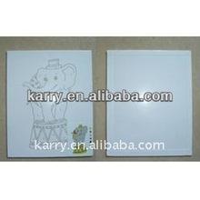 kids cartoon canvas painting