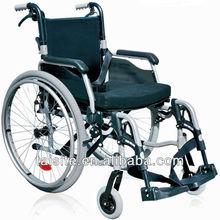 Health care titanium aluminium wheelchairs weigh foldable handle 4636
