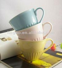 2012 New Advertising Ceramic Mugs, colorful coffee mugs
