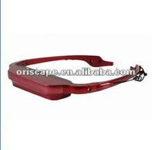 Faddish digital video eyeglasses MP3/mP4 Player digital eyewear/ All-in-one Video Glasses