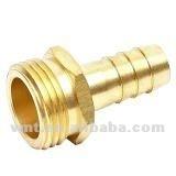 precision machining brass garden hose adapter