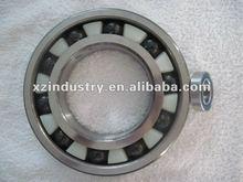 plastic ring Hybrid Ceramic ball ball bearings 6000series
