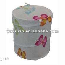 round container/cheap storage bin/canvas storage bin