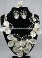 la moda de la perla y collar de conchas de joyería de fantasía