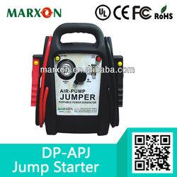 Car jump start muti-function jumper with air pump for peak power 720A