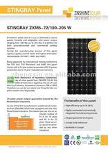 Znshine Gallium Doped Mono-crystaline Solar Panel/PV Module Mono 180W 185W 190W 195W 200W 205W