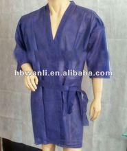 Disposable PP kimono for beauty salon