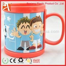 World Cup soccer souvenirs's mug, customize pvc mugs