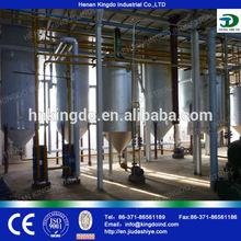 Refined sunflower oil machine Crude Oil Refinery Equipment for Edible Oil