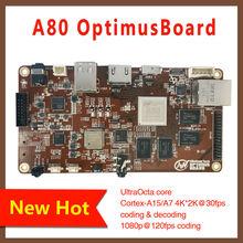 A80 OptimusBoard Ultra Octa core Cortex-A15/A7 supports 4K*2K 8 core