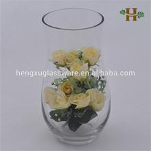 Clear Flared Opening Glass Terrarium for Flower Arrangement