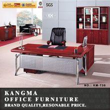 metal leg base office furniture executive office desk